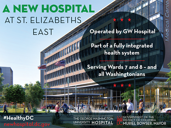 New Hospital at St Elizabeths East
