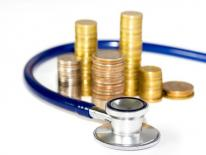 Money and stethescope